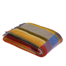 Load image into Gallery viewer, WALLACE+SEWELL - HONEYCOMB THROW - EDITH - LARGE