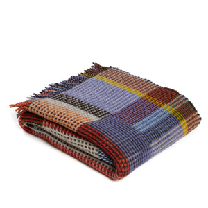 WALLACE+SEWELL - HONEYCOMB THROW - OCTAVIA - LARGE