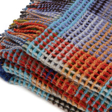 Load image into Gallery viewer, WALLACE+SEWELL - HONEYCOMB THROW - WILDING - LARGE