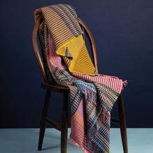 Load image into Gallery viewer, WALLACE+SEWELL - PINSTRIPE THROW - HAMBLING - LARGE