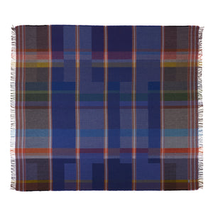 WALLACE+SEWELL - PINSTRIPE THROW - CALVERT - LARGE