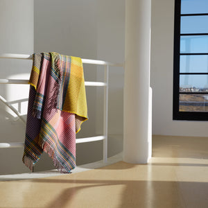 WALLACE+SEWELL - PINSTRIPE THROW - HAMBLING - LARGE