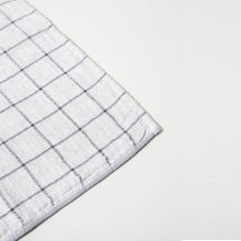 Load image into Gallery viewer, KONTEX - GRAPH ORGANIC COTTON TOWEL. GREY + NAVY