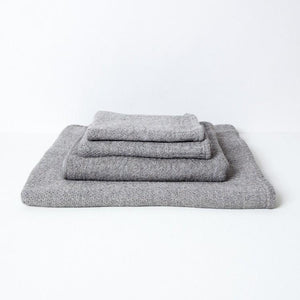 KONTEX - LANA ORGANIC COTTON TOWEL. GREY