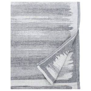 LAPUAN - JOKI LINEN KING SIZE BATH TOWEL. GREY