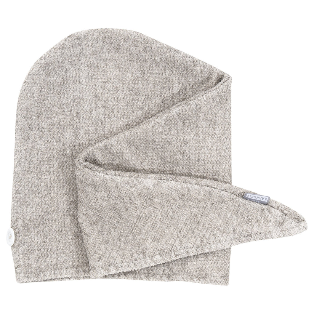 LAPUAN - KIVI LINEN TERRY HAIR TOWEL