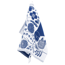 Load image into Gallery viewer, LAPUAN - KOIRA LINEN HAND TOWEL. BLUEBERRY