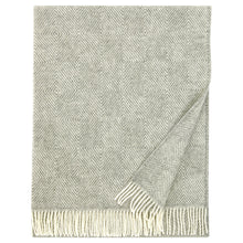 Load image into Gallery viewer, LAPUAN - MARIA WOOL BLANKET. GREY