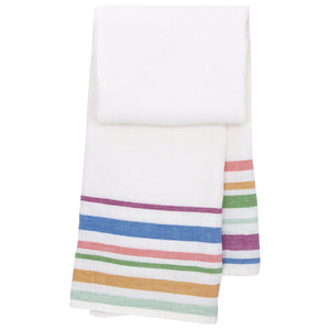 LAPUAN - MERU LINEN KING SIZE BATH TOWEL. WHITE