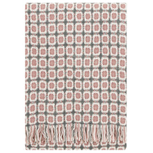 Load image into Gallery viewer, LAPUAN - LAMBSWOOL BLANKET. ROSE