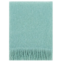 Load image into Gallery viewer, LAPUAN - SAAGA UNI MOHAIR BLANKET. TURQUOISE