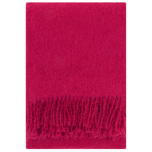 Load image into Gallery viewer, LAPUAN - SAAGA UNI MOHAIR BLANKET. RED