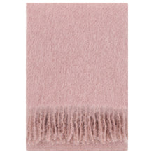 Load image into Gallery viewer, LAPUAN - SAAGA UNI MOHAIR BLANKET. ROSA