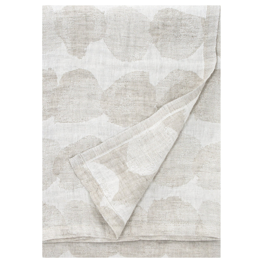 LAPUAN - SADE LINEN KING SIZE BATH TOWEL. NATURAL