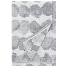 Load image into Gallery viewer, LAPUAN - SADE LINEN KING SIZE BATH TOWEL. GREY