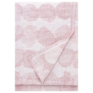 LAPUAN - SADE LINEN KING SIZE BATH TOWEL. ROSE