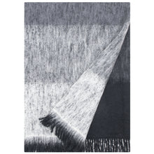 Load image into Gallery viewer, LAPUAN - SUMU MOHAIR BLANKET. GREY