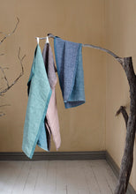 Load image into Gallery viewer, LAPUAN - DUO LINEN HAND TOWEL. RUST+LINEN