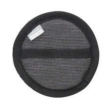 Load image into Gallery viewer, LAPUAN  - ONNI LINEN TERRY COSMETIC SPONGE - BLACK + GRAPHITE