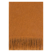 Load image into Gallery viewer, LAPUAN - SAAGA UNI MOHAIR BLANKET. RUST
