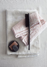 Load image into Gallery viewer, LAPUAN - SADE LINEN HAND TOWEL. ROSE