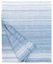 Load image into Gallery viewer, LAPUAN - ULAPPA LINEN KING SIZE BATH TOWEL. BLUE