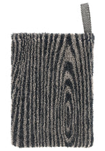 Load image into Gallery viewer, LAPUAN  - VIILU LINEN TERRY WASH MITTEN. BLACK