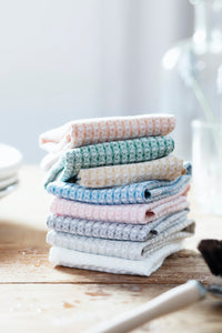 LAPUAN - MAIJA LINEN FACE TOWEL. ROSE