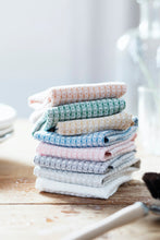 Load image into Gallery viewer, LAPUAN - MAIJA LINEN FACE TOWEL. RAINY BLUE