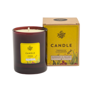 THE HANDMADE SOAP COMPANY - LEMONGRASS & CEDARWOOD CANDLE