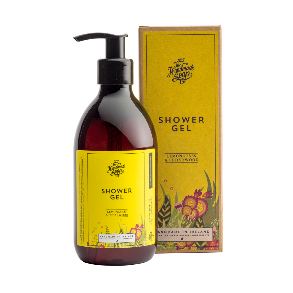 THE HANDMADE SOAP COMPANY - LEMONGRASS & CEDARWOOD SHOWER GEL