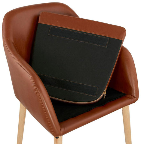 Image of MADOX Bruin Standaard Fauteuil jouwfauteuil.nl