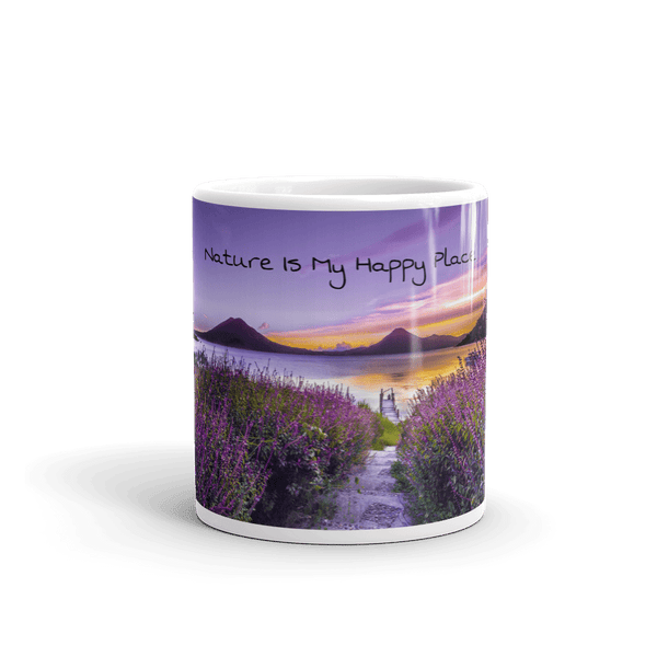 Coffee Mug with Tranquil Nature Scene