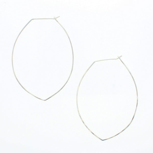 Petal Hoop Earrings
