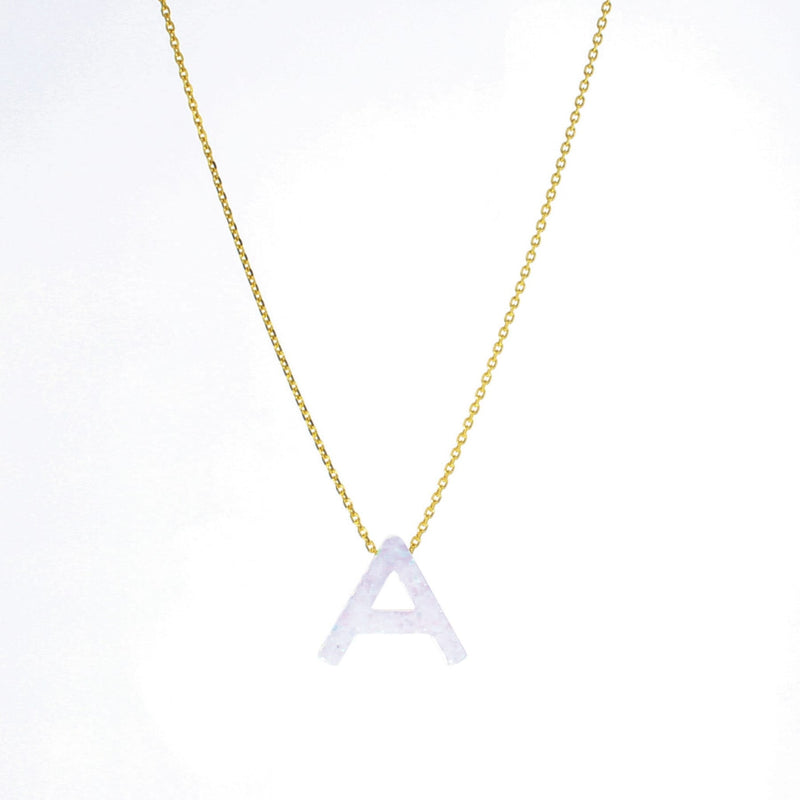 Aurora Letter Necklace