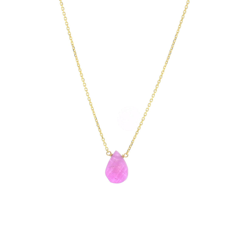 Mila Necklace - Ruby