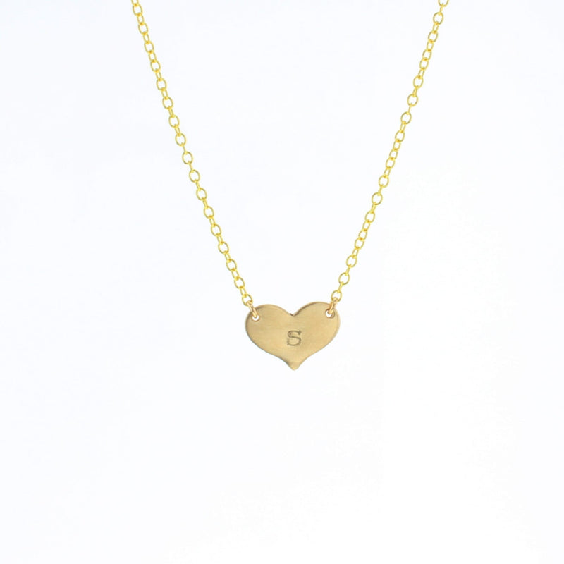 Heart Letter Necklace