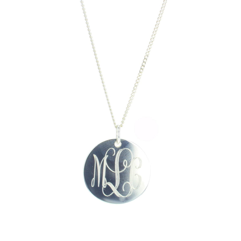Traditional Monogram Necklace