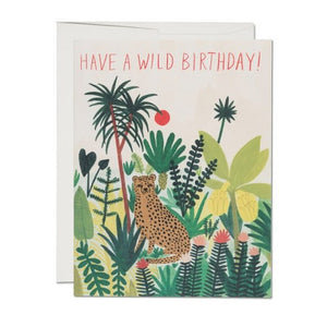 Wild Cheetah Birthday