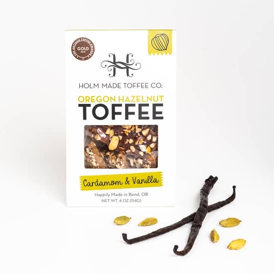 HOLM Cardamom And Vanilla - Oregon Hazelnut Toffee