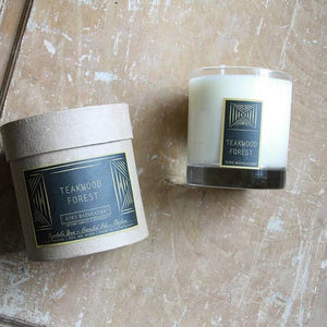 Teakwood Forest Botanical Candle