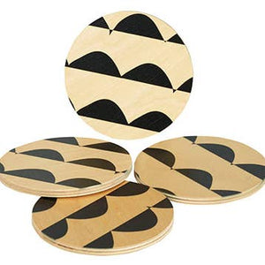 Curves Round Coasters