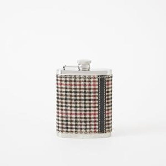 Flask Cotton Plaid