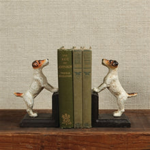 Load image into Gallery viewer, JACK RUSSEL BOOKENDS SET