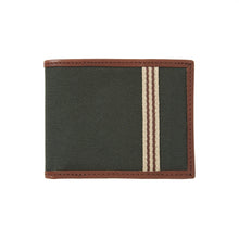 Load image into Gallery viewer, Billfold Wallet Canvas Hunter Green