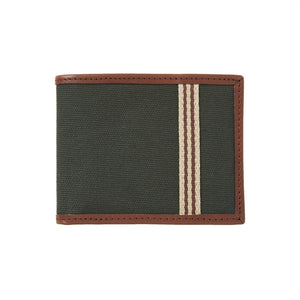 Billfold Wallet Canvas Hunter Green