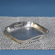 Load image into Gallery viewer, MACKENZIE SQUARE TRAY - MED - NICKEL