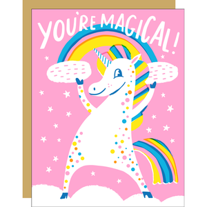 Magical Unicorn  Greeting Card