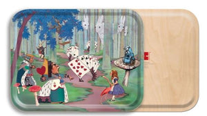 ALICE LOST IN THE WOODS TRAY