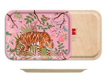 Load image into Gallery viewer, Panthera Pink Birch Wood Tray